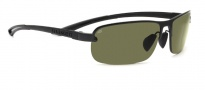 Serengeti Strato Sunglasses Sunglasses - 7680 Satin Black / Polar PHD 555NM