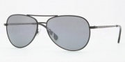 Brooks Brothers BB4001S Sunglasses Sunglasses - 10046G Black / Grey Silver Mirror