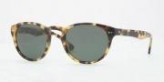Brooks Brothers BB5002S Sunglasses Sunglasses - 600471 Soptty Tortoise / Solid Green