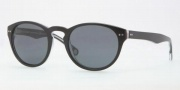 Brooks Brothers BB5002S Sunglasses Sunglasses - 604687 Black / Crystal Gray Solid