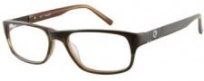 Guess GU 1710 Eyeglasses Eyeglasses - BRN: Brown Khaki Horn