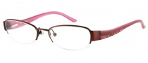 Guess GU 2263 Eyeglasses Eyeglasses - BU: Burgundy Satin
