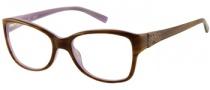 Guess GU 2273 Eyeglasses Eyeglasses - AMB: Amber Horn