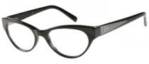 Guess GU 2285 Eyeglasses Eyeglasses - BLK: Solid Black