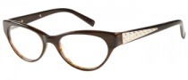 Guess GU 2285 Eyeglasses Eyeglasses - BRN: Brown Crystal