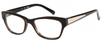 Guess GU 2286 Eyeglasses Eyeglasses - BRN: Brown Crystal