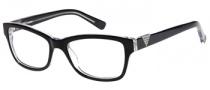 Guess GU 2294 Eyeglasses Eyeglasses - BLK: Black Crystal