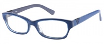 Guess GU 2295 Eyeglasses Eyeglasses - BL: Blue Dark Grey