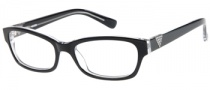 Guess GU 2295 Eyeglasses Eyeglasses - BLK: Black Crystal