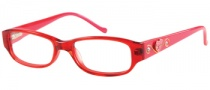 Guess GU 9084 Eyeglasses Eyeglasses - RD: Red Glitter