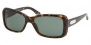Ralph Lauren RL8066 Sunglasses Sunglasses - 500371 Dark Havana / Green