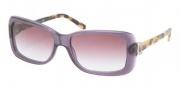 Ralph Lauren RL8078 Sunglasses Sunglasses - 52428H Transparent Violet / Violet Gradient