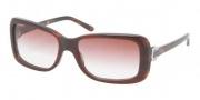 Ralph Lauren RL8078 Sunglasses Sunglasses - 52808D Red Top Horn / Pink Gradient