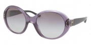 Ralph Lauren RL8084 Sunglasses Sunglasses - 52428G Transparent Violet / Gray Gradient