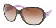 Ralph Lauren RL8090 Sunglasses Sunglasses - 517513 Dark Havana / Brown Gradient
