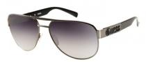 Guess GU 6652 Sunglasses Sunglasses - GUN-35: Satin Gunmetal