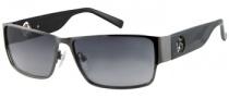 Guess GU 6659 Sunglasses Sunglasses - GUN-35: Shiny Gunmetal