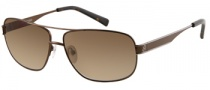 Guess GU 6667 Sunglasses Sunglasses - BRN-1: Satin Brown