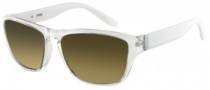 Guess GU 6669 Sunglasses Sunglasses - CRWHT-1F: Crystal