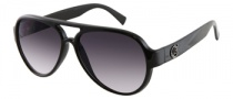 Guess GU 6672 Sunglasses Sunglasses - BLK-35: Black