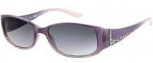 Guess GU 7121 Sunglasses Sunglasses - PUCLR-35: Purple Clear