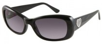 Guess GU 7126 Sunglasses Sunglasses - BLK-3: Solid Black