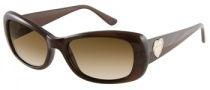 Guess GU 7126 Sunglasses Sunglasses - BRN-1: Brown Milky