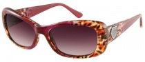 Guess GU 7126 Sunglasses Sunglasses - BUCH-34: Burgundy