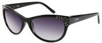 Guess GU 7139 Sunglasses Sunglasses - BLK-35: Solid Black