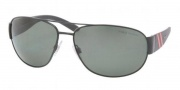Polo PH3052 Sunglasses Sunglasses - 90039A Shiny Black / Polarized Green
