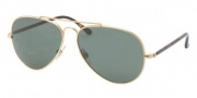 Polo PH3058 Sunglasses Sunglasses - 900471 Shiny Gold / Green