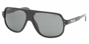 Polo PH4055 Sunglasses Sunglasses - 500187 Shiny Black / Gray