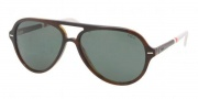 Polo PH4062 Sunglasses Sunglasses - 503571 Top Brown Havana / Green