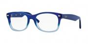 Ray-Ban Junior RY1528 Eyeglasses Eyeglasses - 3581 Opal Blue / Opal Azure