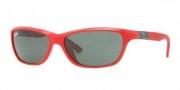 Ray-Ban Junior RJ9054S Sunglasses Sunglasses - 189/71 Red / Green