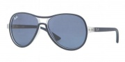 Ray-Ban Junior RJ9055S Sunglasses Sunglasses - 191/80 Transparen Blue / Blue