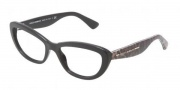 Dolce & Gabbana DG3127 Eyeglasses Eyeglasses - 2525 Black
