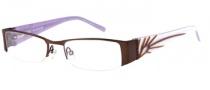 Rampage R 161 Eyeglasses  Eyeglasses - BRN: Satin Brown