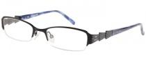 Rampage R 165 Eyeglasses Eyeglasses - BLK: Satin Black