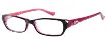 Candies C Adele Eyeglasses Eyeglasses - BLK: Black