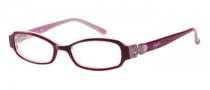 Candies C Betty Eyeglasses Eyeglasses - BU: Iradescent Burgundy