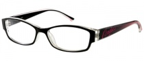 Candies C Debbie Eyeglasses  Eyeglasses - BLK: Black Crystal