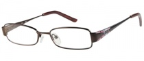 Candies C Maggie Eyeglasses Eyeglasses - BRN: Brown