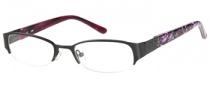 Candies C Paula Eyeglasses Eyeglasses - BLK: Satin Black