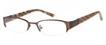 Candies C Paula Eyeglasses Eyeglasses - BRN: Satin Brown