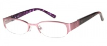 Candies C Paula Eyeglasses Eyeglasses - PK: Satin Pink