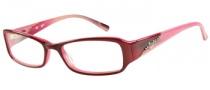 Candies C Sophie Eyeglasses Eyeglasses - BUPK: Burgundy Pink