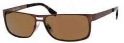 Hugo Boss 0451/P/S Sunglasses Sunglasses - 02R5 Semi Matte Brown (06 Brown Shaded Flash Gold Lens)