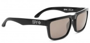 Spy Optic Helm Sunglasses Sunglasses - Black / Happy Bronze Polar w/ Black Mirror