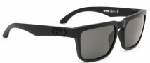 Spy Optic Helm Sunglasses Sunglasses - Matte Black / Grey Polarized